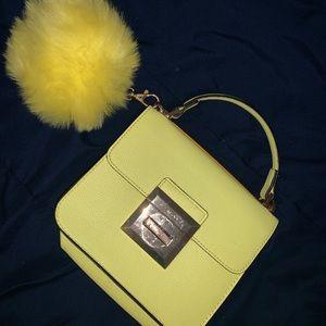 Handbags - Yellow Aldo Purse